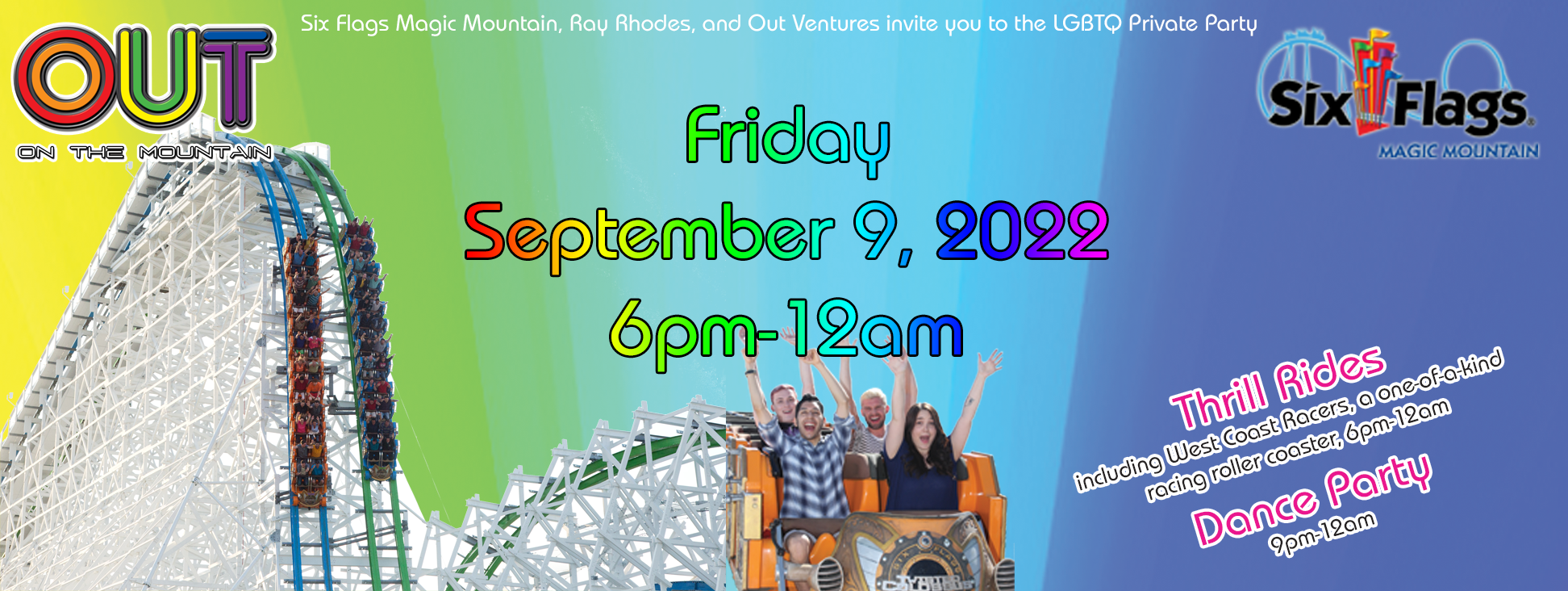 Out on the Mountain - LGBT Night at Six Flags Magic Mountain